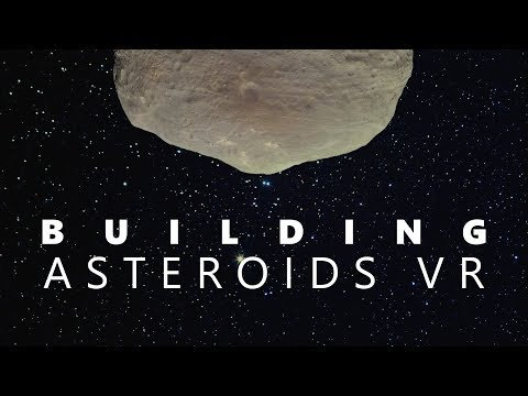 Building Asteroids VR – Day 1
