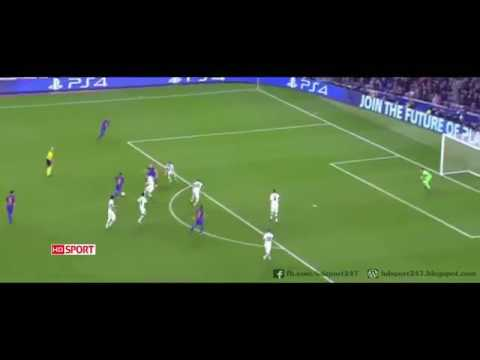 Barcelona Vs Borussia Moenchengladbach 4-0 All Goals  ~ UCL 6/12/2016