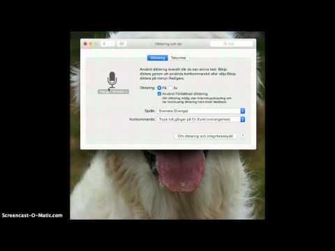 Tal till text i Mac