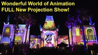 Wonderful World of Animation FULL New Projection Show at Disney's Hollywood Studios - Disney World