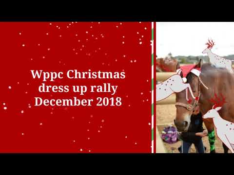 Dec 2018:  WPPC end of the year dress up rally!