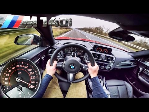 BMW M140i ACCELERATION & TOP SPEED POV Autobahn Test Drive by AutoTopNL