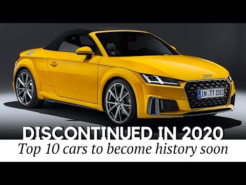 10 Cars That Won't Get New Updates After 2020 (Discontinued Models Guide)