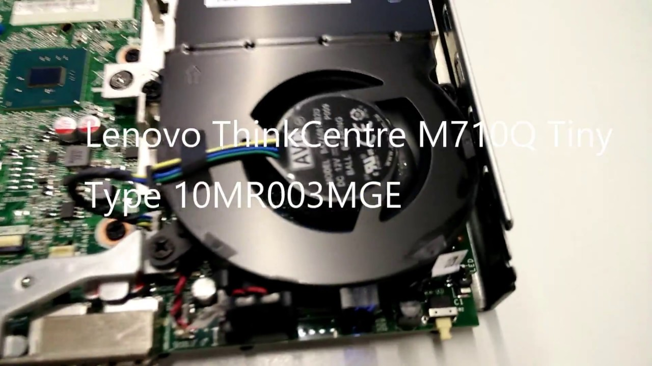 Lenovo ThinkCentre M710Q Tiny PC - 10MR003MGE / 10MR003M