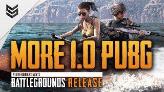 Больше релизного Battlegrounds (PUBG 1.0)