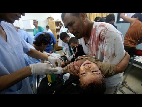 Israeli Forces Target UN School Shelter, Children And Hospitals