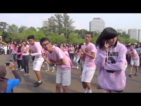 110730 Global Flashmob Indonesia - SONE (Gee)
