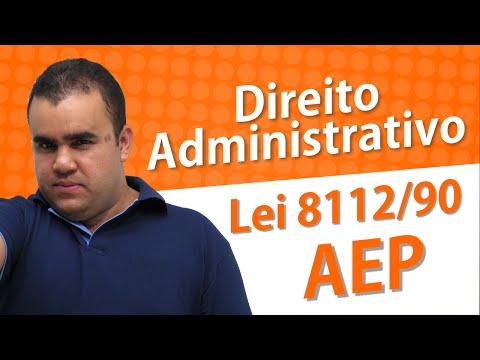 Direito Administrativo - Lei 8112/90 - AEP