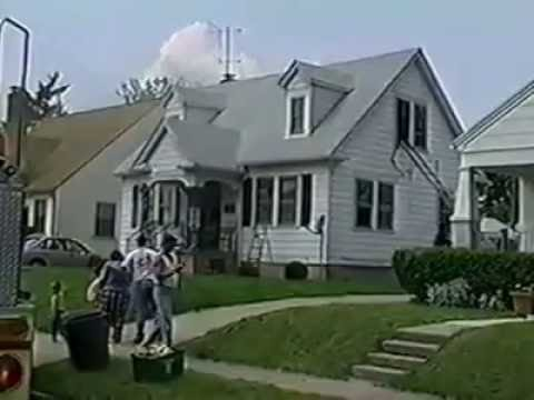 Baby rescue in May of 2002 on Hebble Ave. in Fairborn Ohio