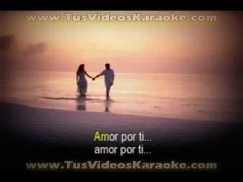 Amor por ti - karaoke - buddy richard