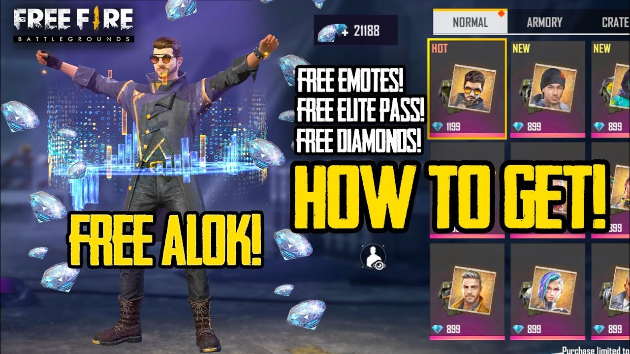 How To Get Free Alok And Unlimited Diamond Tricks Tamil Free Fire Tips And Tricks Tamil Youtube