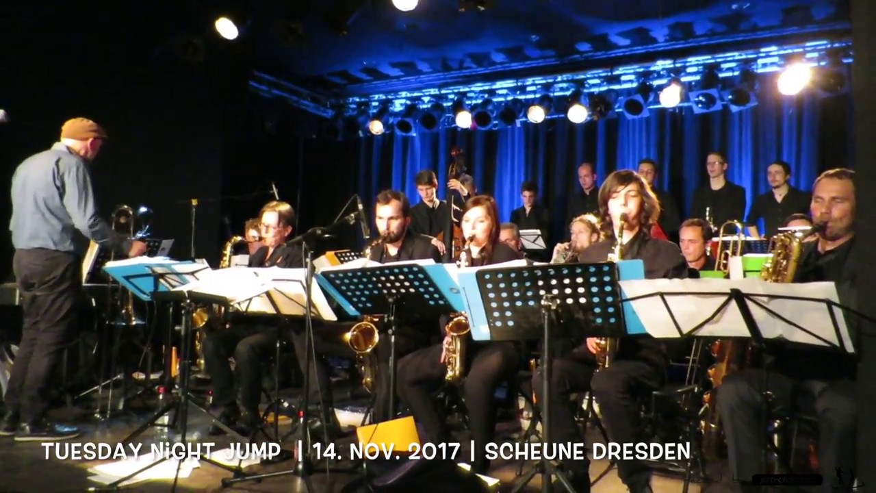 2017 Tuesday Night Jump ★ Dresden Big Band - Lindy Hop in Dresden