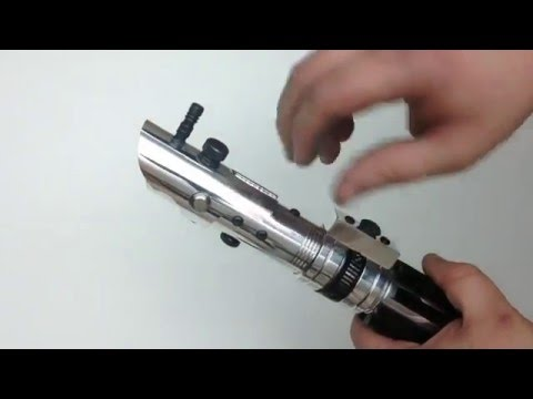 How to make a homemade/ handmade Lightsaber. DIY. Star Wars