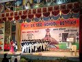 K.R. sr. Sec school. Annual day program. Theme dance right to education.