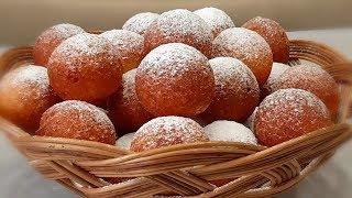 Эти малютки очень любимы всеми с детства! Творожные пончики!