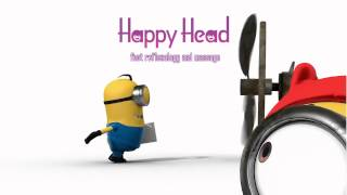 Happy Head Massage in San Diego cartoon