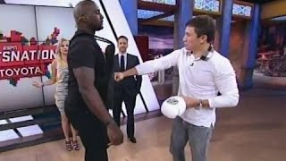 GGG talks Floyd Mayweather, Canelo, Andre Ward & punches Marcellus Wiley on Sportsnation