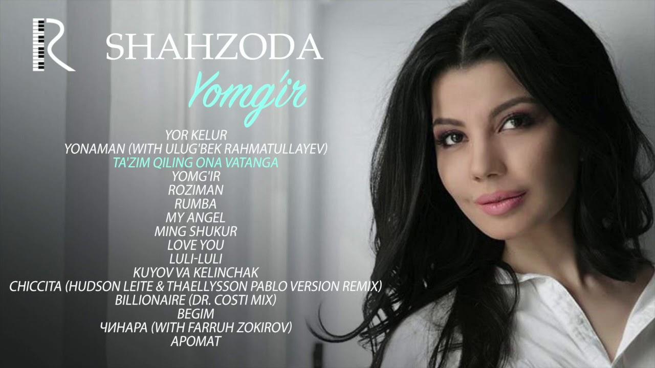 Shahzoda - Yomg'ir nomli albom dasturi 2018
