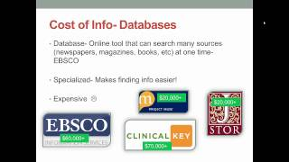 Cost of Information: Prices, Licenses & Open Access