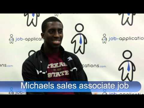Michaels Interview - Sales Associate