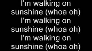 Aly & AJ Walking On Sunshine w/Lyrics