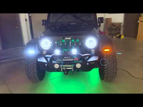 Jeep LED Light Bars - 4.5