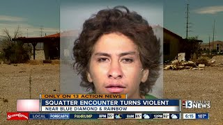 Neighbors want help after alleged squatter situation turns violent