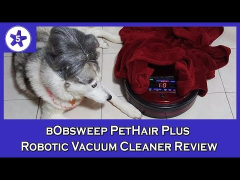 bObsweep PetHair Plus Robotic Vacuum Cleaner and Mop Review