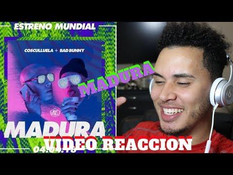 Cosculluela Ft. Bad Bunny - Madura | Reacción