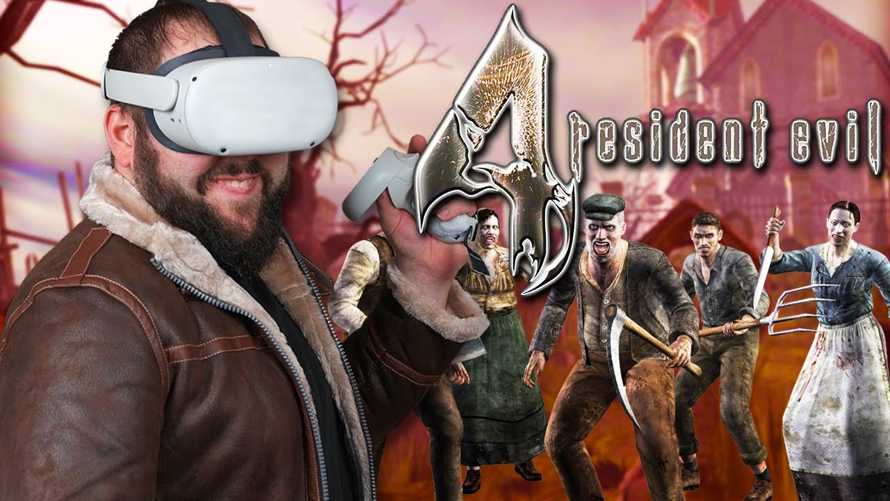 Resident Evil 4 VR On The Oculus Quest 2 HERE!
