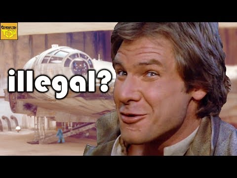 10 MOST ILLEGAL Items Han Solo Smuggled on the Millennium Falcon