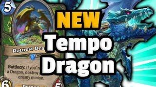 Tempo Dragon Hunter - The Druid Destroyer - Hearthstone Descent Of Dragons
