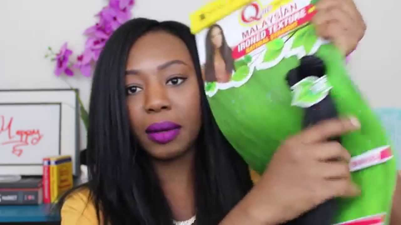 Shake N Go Malaysian Ironed Texture Hair Review Instal Youtube