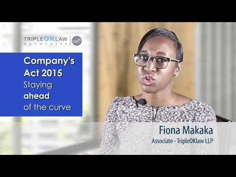 The Company's Act 2015 -  Kenya - Tripleoklaw LLP