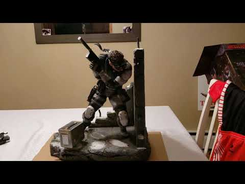 First 4 Figures Solid Snake Exclusive Edition Statue Metal Gear Solid