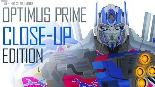 OPTIMUS PRIME(AOE) [CLOSE-UP Edition] - Short Flash Transformers Series
