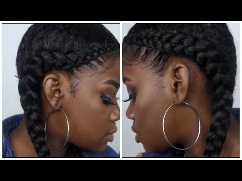 Two Braid With Weave Tutorial