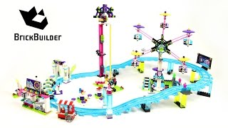 Lego Friends 41130 Amusement Park Roller Coaster - Lego Speed Build