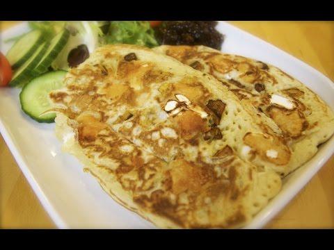 Butternut Squash & Goats Cheese Pancakes | Totally Sacha