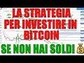 Investire in Bitcoin se Non hai un Capitale: la Strategia Migliore per Comprare Bitcoin