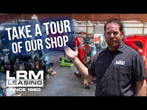 LRM Leasing Tour - Check Out Our Shop!