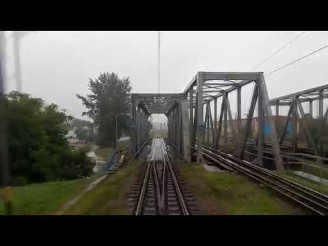 [4000 film!] [REARVIEW] TLK GOMBROWICZ na trasie Rzeszów Gł. - Lublin 03.09.2017