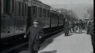 Самый первый в мире фильм Прибытие поезда на вокзал Ласьота