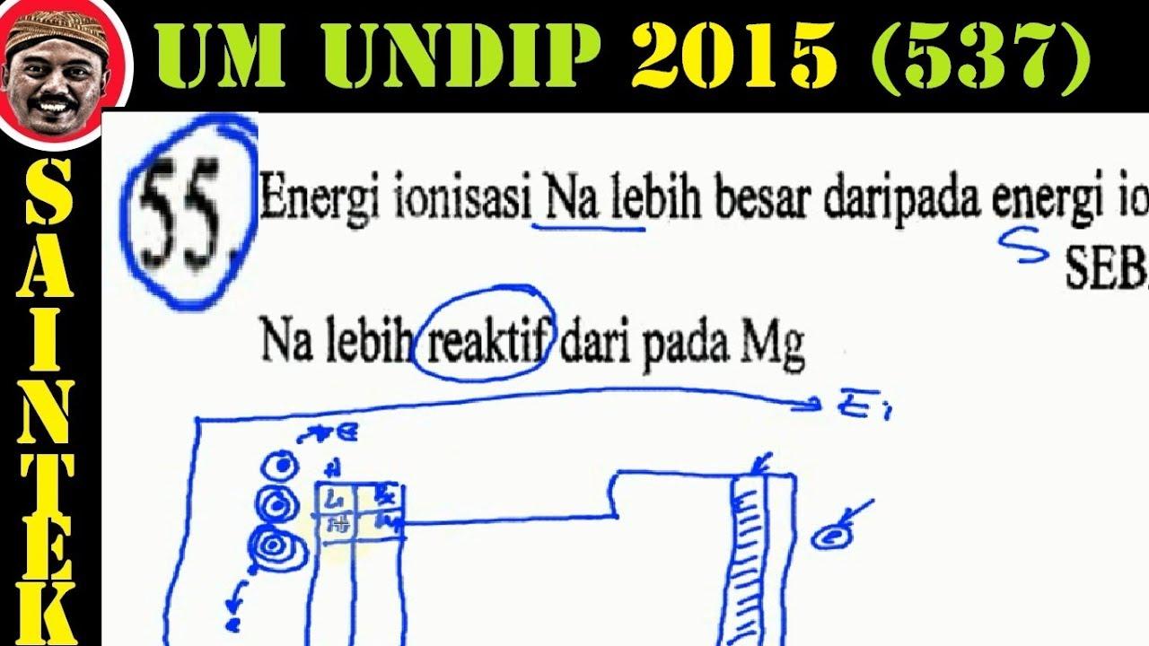 UM UNDIP 2015 Kode537, Kimia, Pembahasan No 55, Energi
