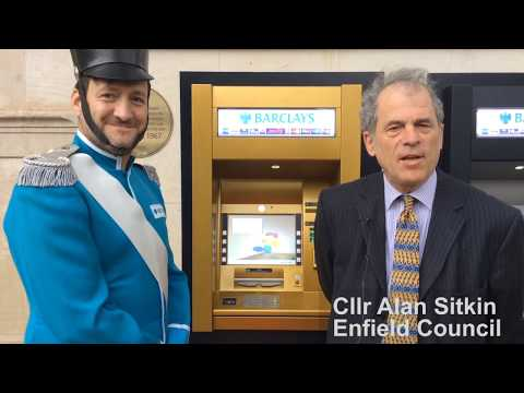 Enfield Council celebrates 50 years of the cash machine!