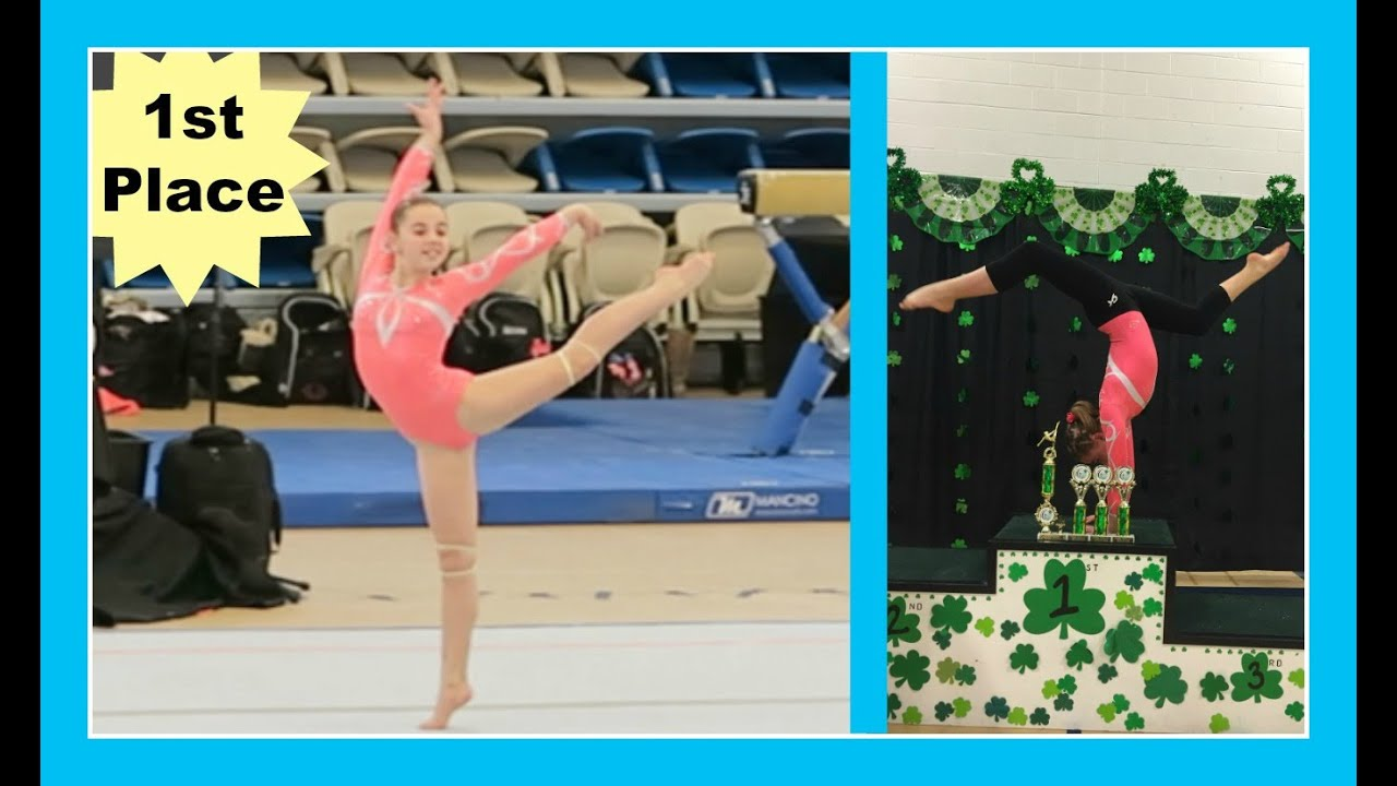 Isabella Seldon Peting At The Husetts Usa Gymnastic State Cup Xcel Bronze Level