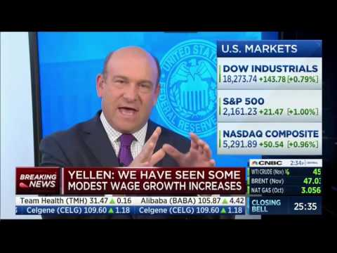 Quick responses from CNBC panel immediately after Yellen FOMC Press Conference 2016 09 21