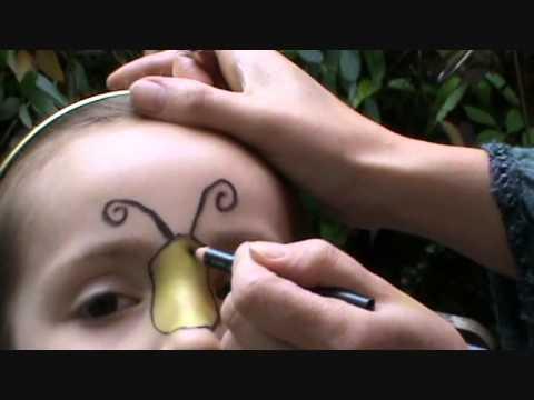 Bumblebee Makeup Look For Kids