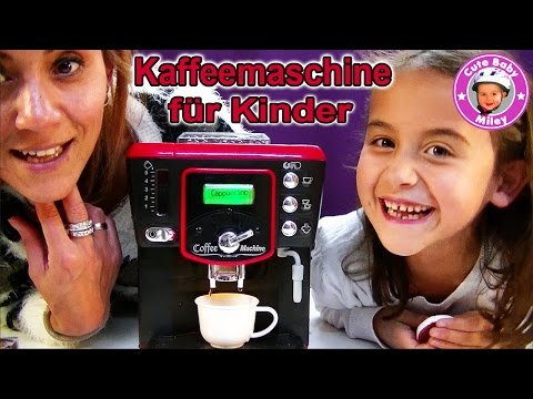 Kinder Spielzeug Kaffeemaschine von Toppolino - Kanal für Kinder