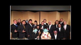 佐々木健介 天龍源一郎の娘の結婚式に夫婦で出席、プロレスラー仲間と集...